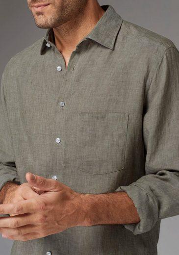GUIDO MARIA KRETSCHMER Leinenhemd, Leinen- Qualität