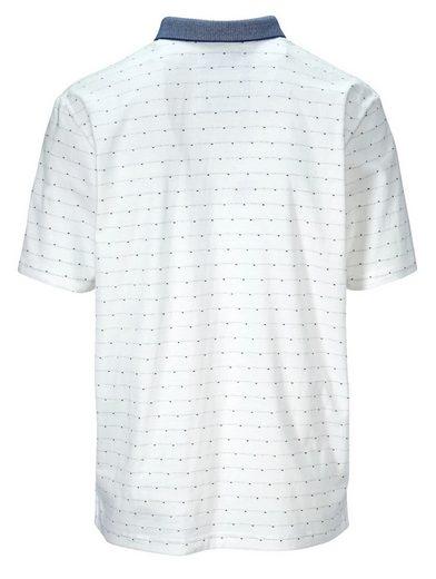 Babista Poloshirt mit Mini-Jaquardmuster