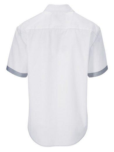 Babista Hemd mit kontrastreichen Ziernähten