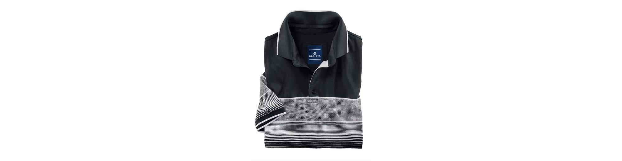 Babista Poloshirt mit garngefärbtem Verlaufsmuster Verkauf Ausgezeichnet IaNT9CGujJ