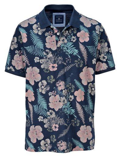Babista Poloshirt mit modischem Druckmuster rundum
