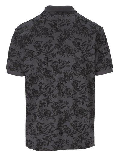 Babista Poloshirt mit floralem Druckmuster