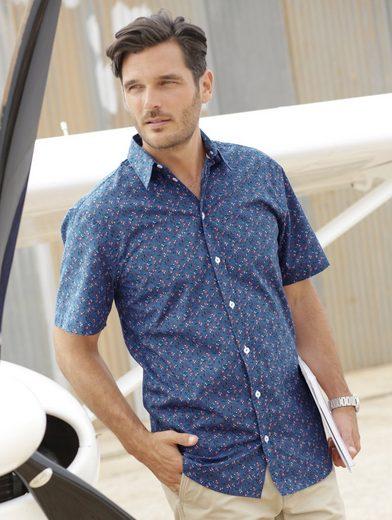 Babista Hemd mit kleinem floralem Druckmuster