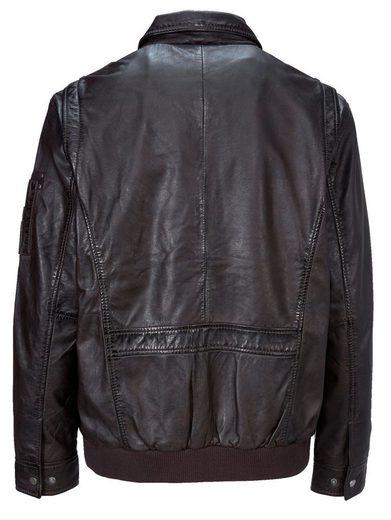 Babista Leather Blouson Made Of Lamb Nappa