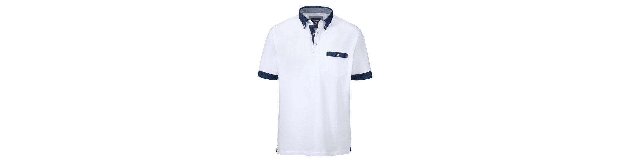 Babista Poloshirt mit floralen Akzenten Verkauf Online-Shopping wSyZtYMP18