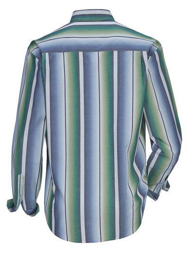 Babista Hemd mit Streifen im Verlauf