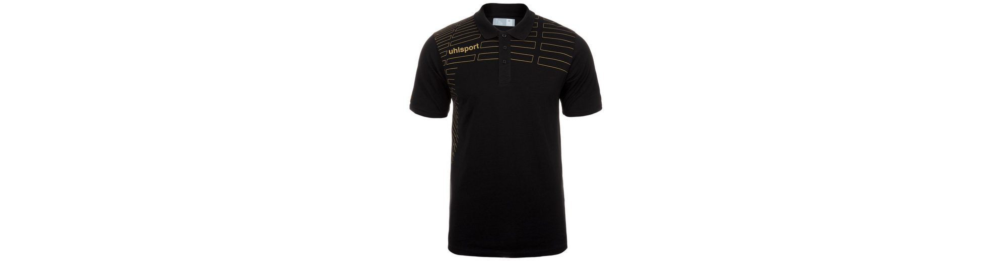 UHLSPORT Match Polo Shirt Herren Freies Verschiffen Sneakernews Factory-Outlet-Online Freies Modernes Verschiffen Billiger Preis YSKe90