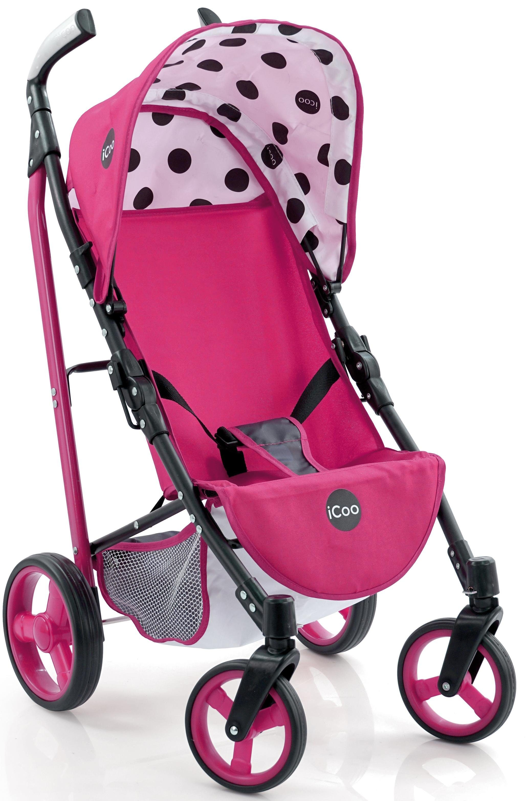 hauck TOYS FOR KIDS Puppenbuggy, »iCoo Pluto, Pink«