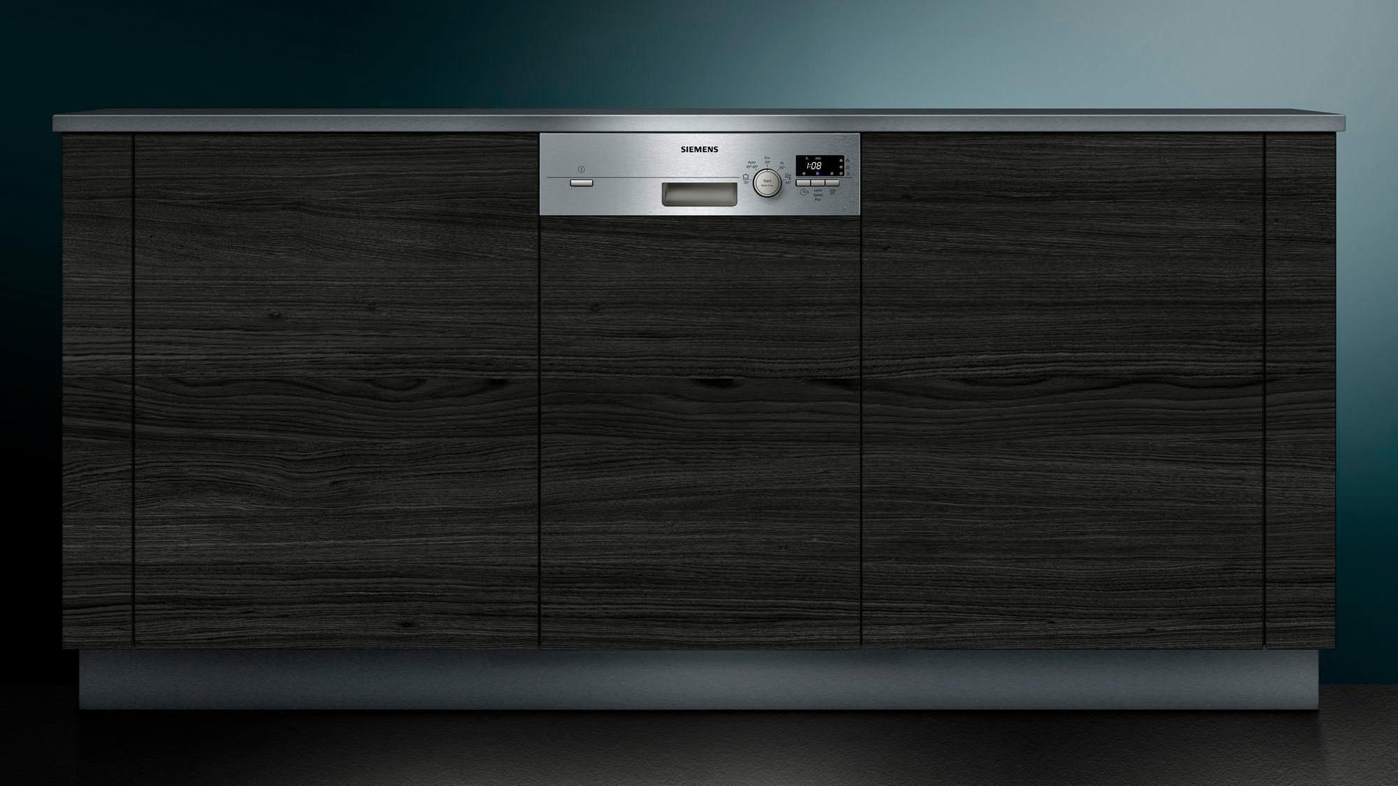 Siemens Kühlschrank 45 Cm Breit : Siemens teilintegrierbarer geschirrspüler sr s ce l