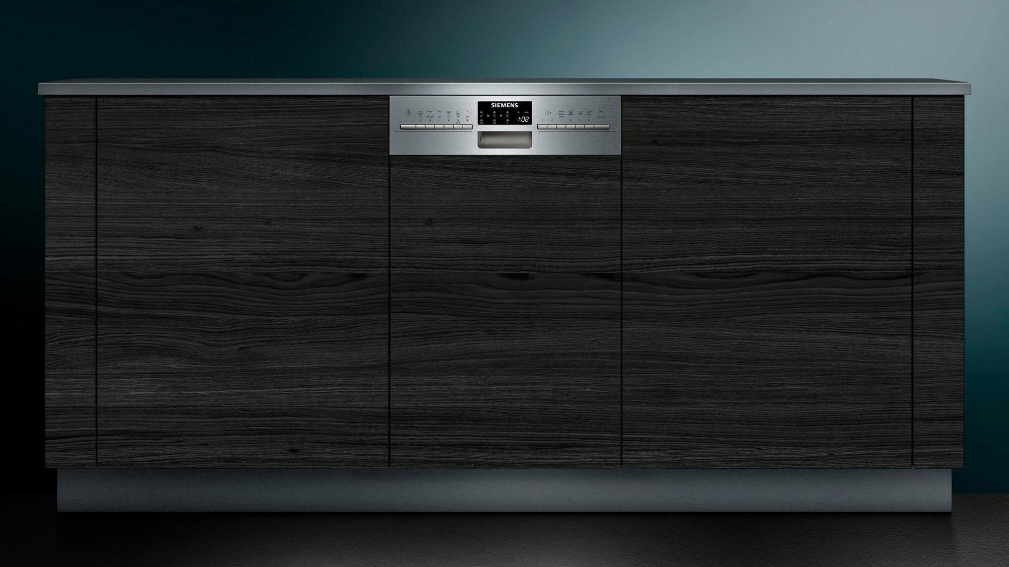 Siemens Family Line Kühlschrank : Siemens teilintegrierbarer geschirrspüler sr s pe l