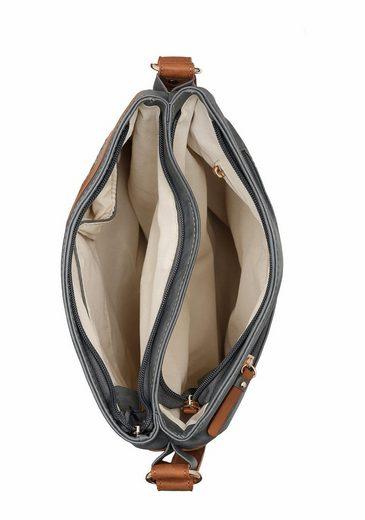 Rieker Umhängetasche, mit schönen Spitzen-Details