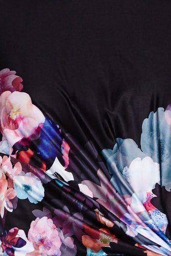 Y by Yumi Partykleid Isla, mit seitlicher Raffung