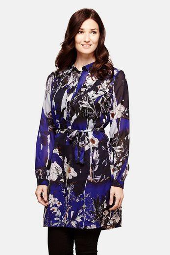 Yumi Abendkleid Isra, mit formellem Hemdkragen