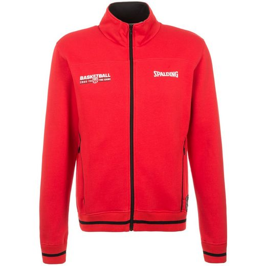 Spalding Team Zipper Trainingsjacke Herren