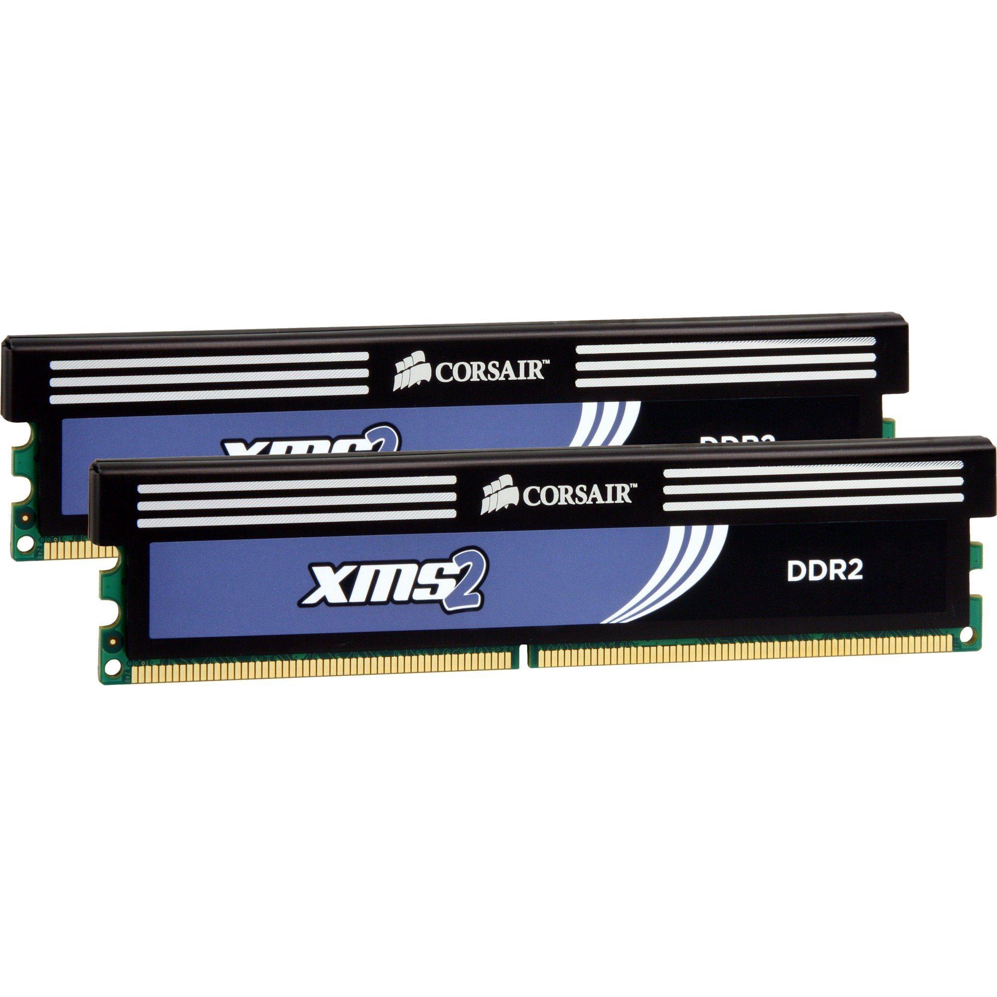 Corsair Arbeitsspeicher »DIMM 4 GB DDR2-800 Kit«