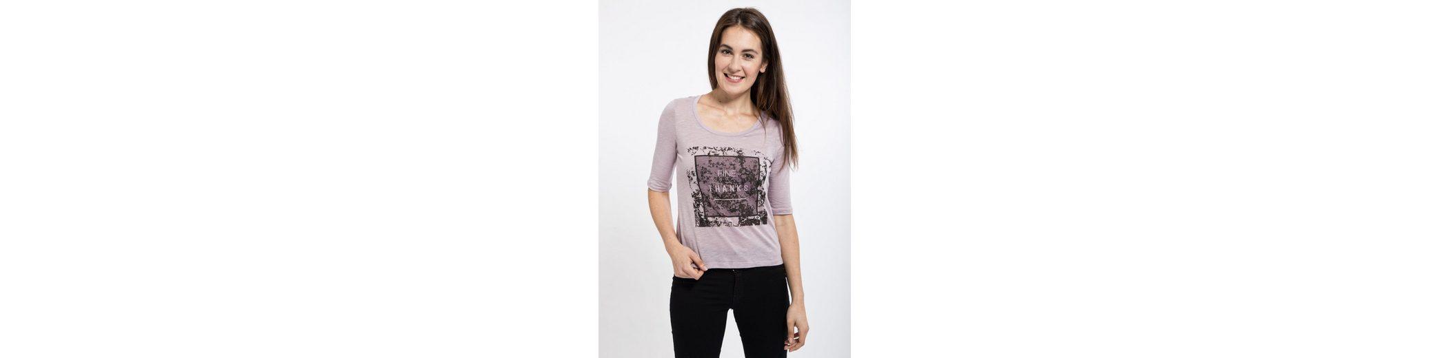 Mexx Vokuhila-Shirt, mit halblangen Ärmeln
