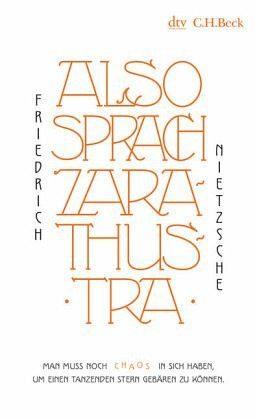 Broschiertes Buch »Also sprach Zarathustra«