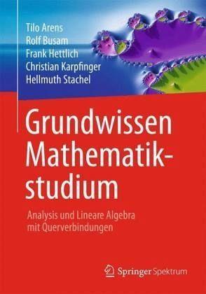 Gebundenes Buch »Grundwissen Mathematikstudium - Analysis und...«