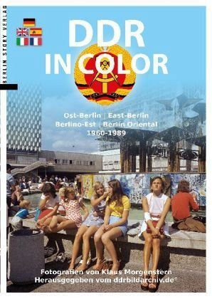 Broschiertes Buch »DDR in Color«