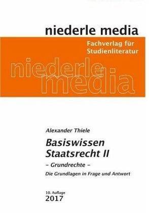 Broschiertes Buch »Basiswissen Staatsrecht 2«