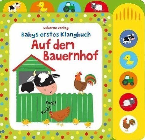 Gebundenes Buch »Babys erstes Klangbuch: Auf dem Bauernhof«