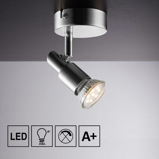 IMPTS LED Deckenspots, Spotbalken, Pendelleuchte, 1-flammiger Deckenstrahler