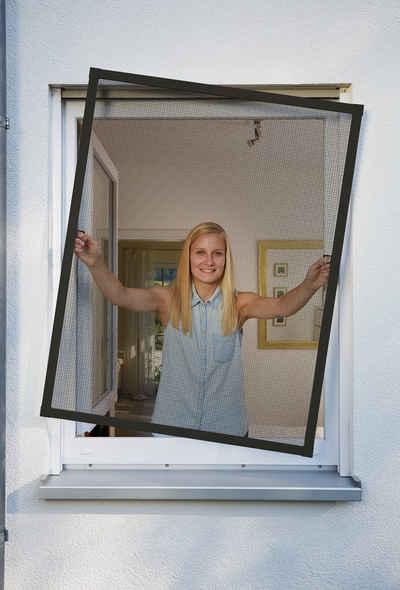 SCHELLENBERG Insektenschutz-Fenster »PLUS«, BxH: 100x120 cm, anthrazit