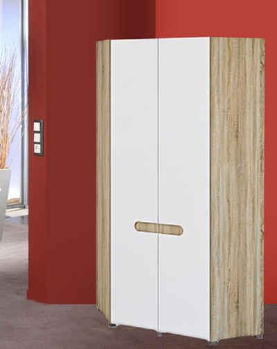 Feldmann-Wohnen Eckkleiderschrank »LEONARDO« Schenkelmaße: 101 x 101 cm, Gesamthöhe: 220 cm