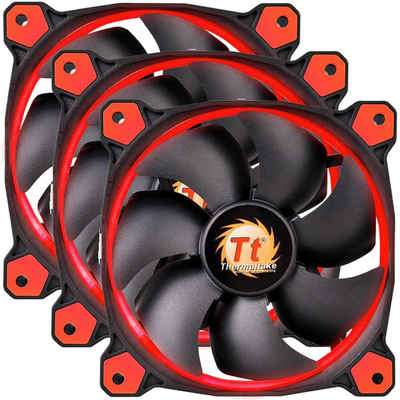 Thermaltake Gehäuselüfter »Riing 12 LED Red 3-Fan Pack«