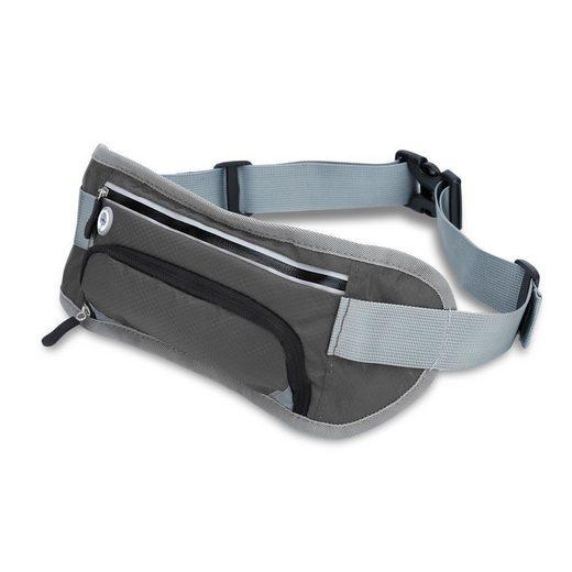Cadorabo Sporttasche, Cadorabo Sport Bauch- und Armtaschen für Reflektor Bauchtasche in grau