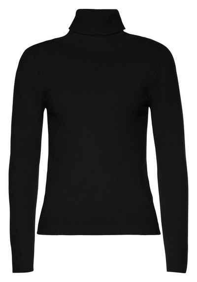 Please Jeans Rollkragenpullover »M710865« in klassischer Form