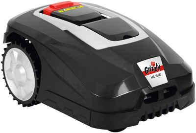 Grizzly Tools Rasenmähroboter »MR 1000 Blackline«, bis 1000 m² Rasenfläche, mit Akku und Ladestation