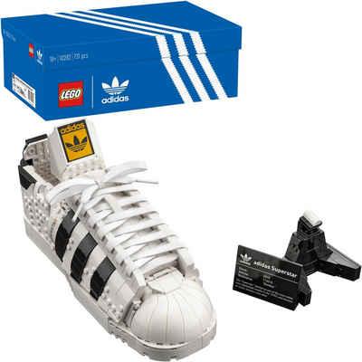 LEGO® Konstruktionsspielsteine »adidas Originals Superstar (10282), LEGO® Creator Expert«, (731 St), Made in Europe