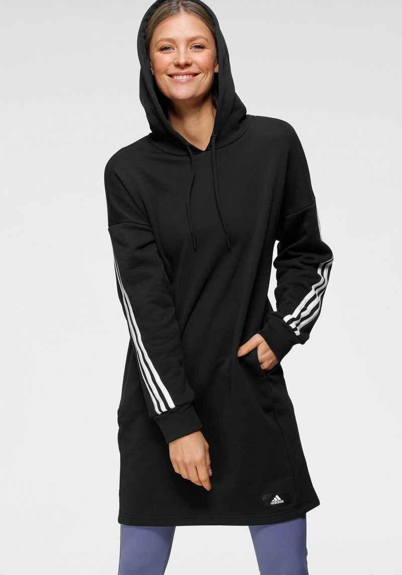 adidas Performance Kapuzensweatshirt »FUTURE ICON 3STRIPES LONG HOODIE«