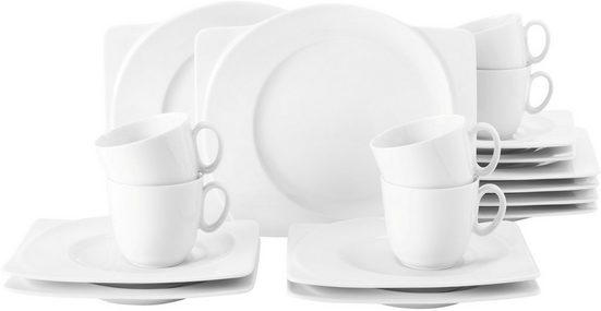 Seltmann Weiden Kaffeeservice »Paso« (18-tlg), Porzellan