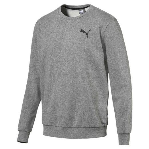 PUMA Sweater »Essentials Herren Crew Sweatshirt«