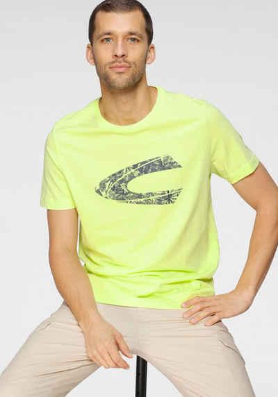 camel active T-Shirt mit großem Frontprint