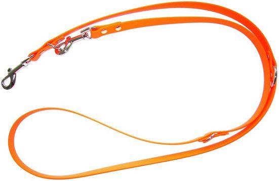 HEIM Hundeleine »Biothane«, orange, B: 0,9 cm, in 2 Längen