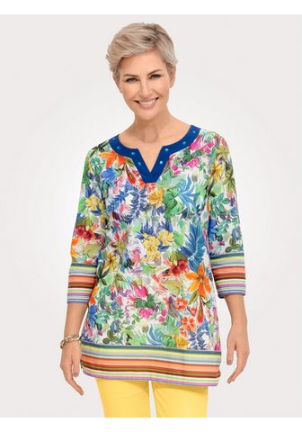 Mona Tunika su eindrucksvollem Floral-Druck...