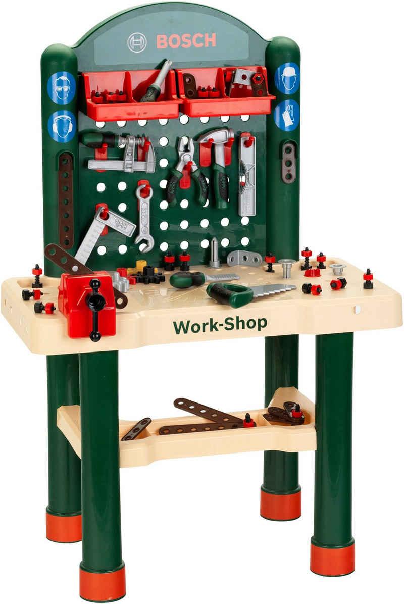 Klein Werkbank »Bosch, Work-Shop«, (Set), Made in Germany
