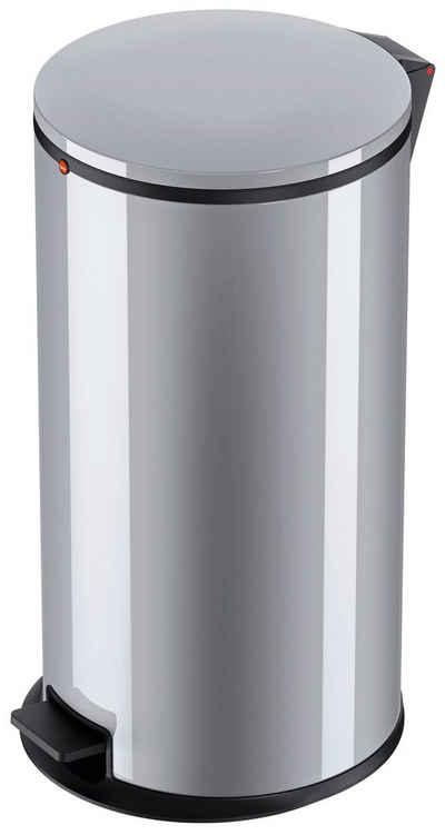 Hailo Mülleimer »Pure XL«, silberfarben, Fassungsvermögen ca. 44 Liter