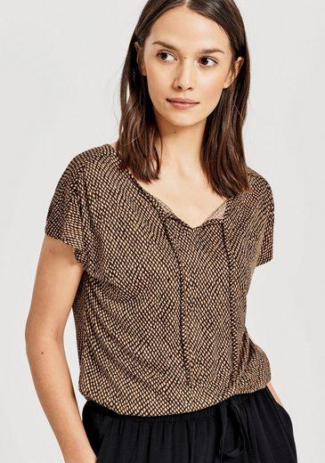 OPUS T-Shirt »Susy« mit Ethno-Print