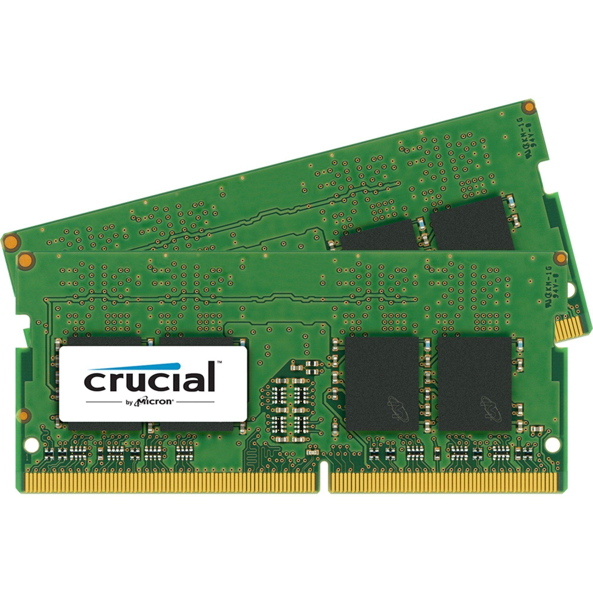 Crucial Arbeitsspeicher »SO-DIMM 32GB DDR4-2133 Kit«