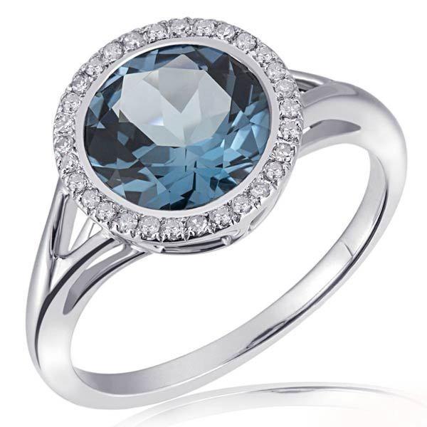 goldmaid damenring 375 wei gold 30 diamanten 0 12 ct 1 londontopas online kaufen otto. Black Bedroom Furniture Sets. Home Design Ideas