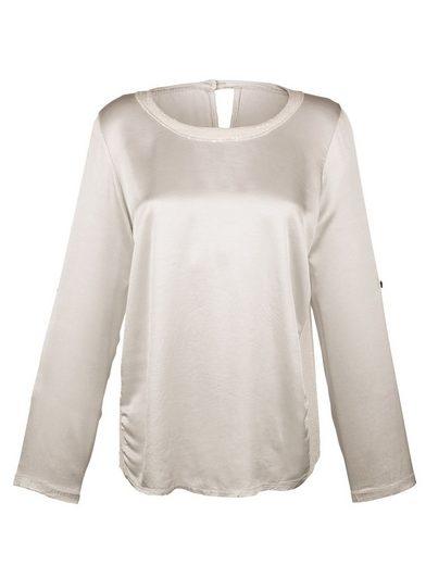 Alba Moda Blusenshirt mit Pailletten