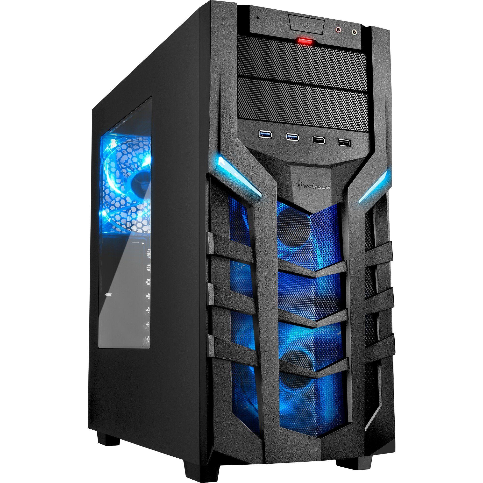 Sharkoon Tower-Gehäuse »DG7000 blue«