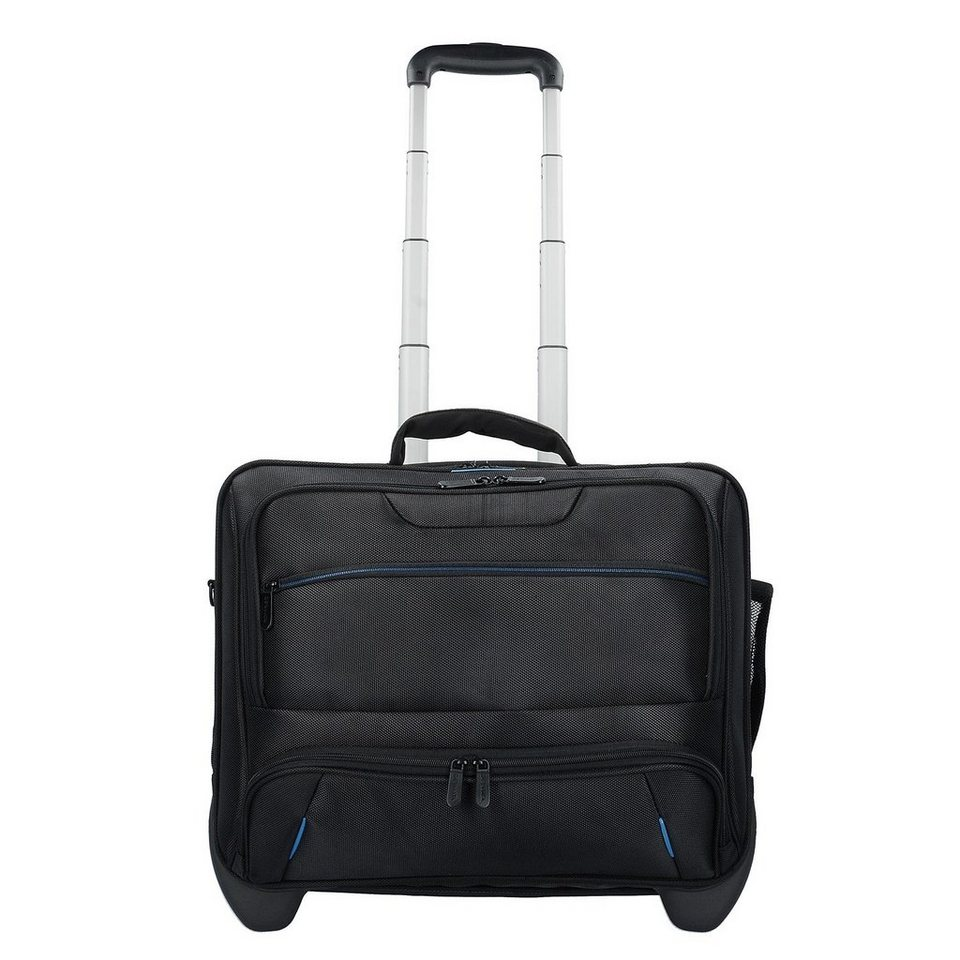 99214f59d9b4d Dermata 2-Rollen Businesstrolley 42 cm Laptopfach