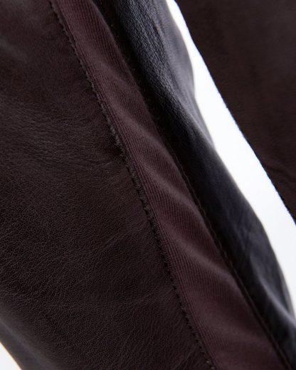 JCC Lederhose mit Reißverschluss am Beinabschluss 9180