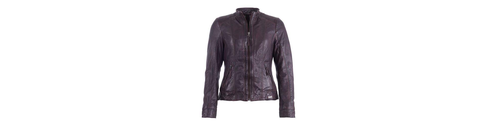 Mustang Lederjacke Beatrice Outlet-Store Online-Verkauf Billig Verkauf Zuverlässig Kaufen Wirklich Billig yLs4tsjmc