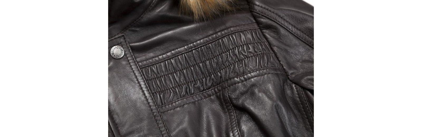 Auslass Empfehlen Mustang Lederjacke Lelu Offizieller Günstiger Preis dBX5h